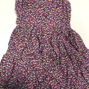 Flower print zara dress